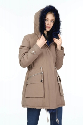 SIGNAL Women's Fox Fur Parka
