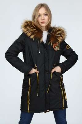 TIGRIS Women Fur Coat