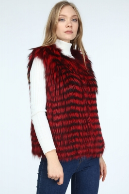 PHOENIX Women's Fox Fur Vest