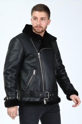 Cessna Pilot Men's Shearling Jacket