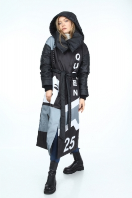 Queen Short Down Coat Puff Style
