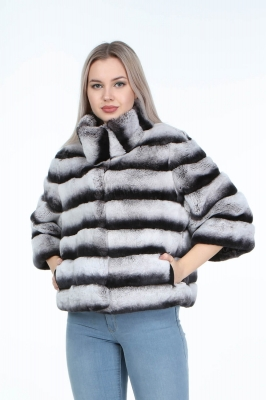 SALINA Rex Rabbit Fur Coat for Women