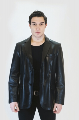 Blade Men's Leather Jacket